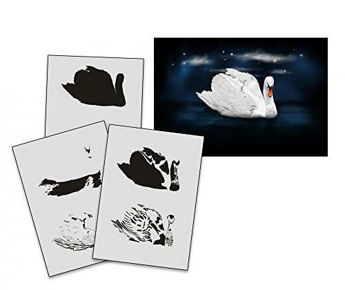 umr-design-as-196-swan-airbrushstencil-step-by-step-size-xs
