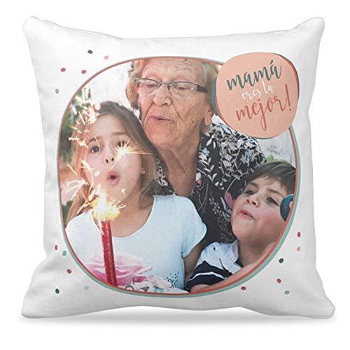 Cojines con tus FOTOS ideales Día de la Madre | Cojín de ...