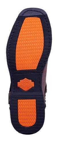 El Herren davidson Sapatos D94423 Harley Davidson Harley Marrom Homens Paso IfTqP
