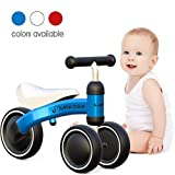 Luddy Baby Balance Bike 1 Year Old Birthday Ride on Toys for 12 Months Kids First Bike
