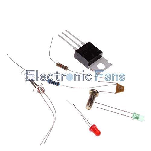 12V DIY Tesla Coil Kit Arc Wireless Electric Power Transmission Beleuchtung DL