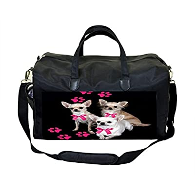 125843de61 Chihuahuas and Pink Pawprints Weekender Bag well-wreapped - shop ...