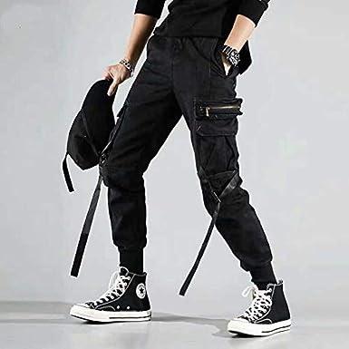 Details about  /Lady Cargo Pants Combat Trousers Casual Joggers Workwear Bottoms Hip Hop Rapper