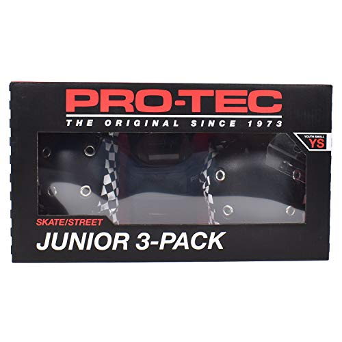 ProTec Black Checker Junior 3 Pack Pad Set – YM