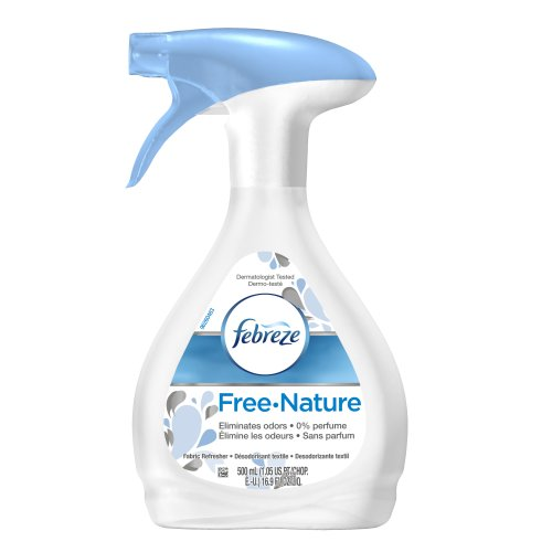 Febreze  Air Freshener, Fabric Refresher Air Freshener, Free Nature, 16.9 Ounce