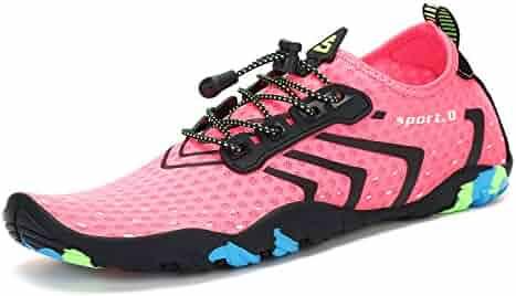 Mens Womens Water Shoes Quick Dry Barefoot Swim Diving Surf Aqua Sports Pool Beach Walking Yoga