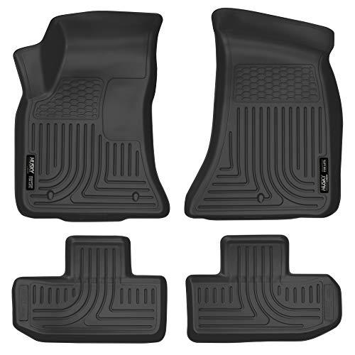 Floor 2 Liners Piece Front - Husky Liners Front & 2nd Seat Floor Liners Fits 11-15 Challenger