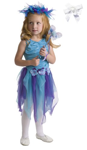 Little Adventures 13063 Teal Fairy Dressup Age 5-7, Halo, Wand, Hairbow (Blue Dress Ups)