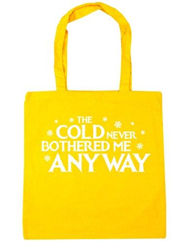 HippoWarehouse - Bolsa de playa de algodón  Mujer, amarillo (amarillo) - 21501-TOTE-Yellow amarillo
