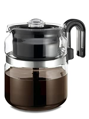Wee's Beyond 7548 Stove Top Percolator, 8 Cups, Clear/Glass from Wee's Beyond
