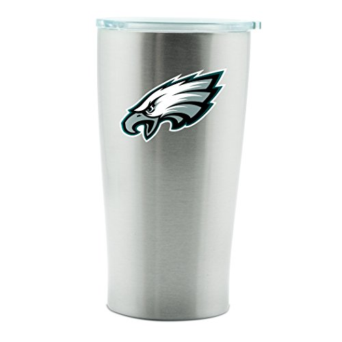 NFL Philadelphia Eagles 14oz Double Wall Stainless Steel Thermo Cup with Lid ()
