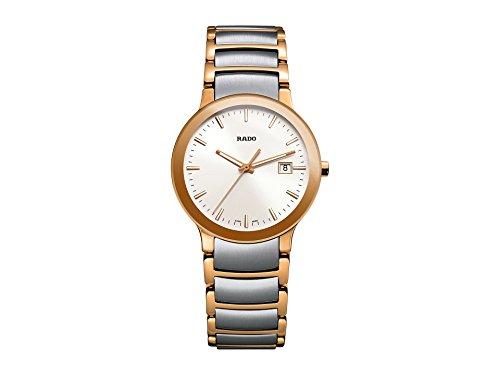 (RADO Women's Centrix - R30555103 Two-Tone Silver/Rose Gold One Size)