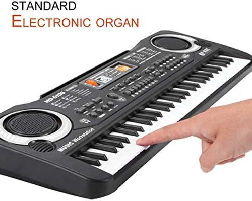 Lorenlli 61 Teclas Música Teclado Electrónico Digital Órgano Eléctrico Niños Grandes Regalos Con Micrófono Aleatorio Instrumento Musical