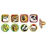 Kung Fu Panda 3 Besties Cupcake Rings - 12 Count