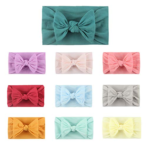 Baby Girl Bows Headbands Nylon Headbands for Newborn Infant