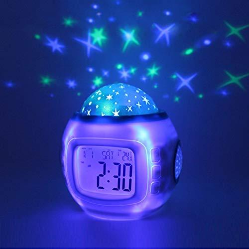 PTICA Starry Sky Reloj Despertador Proyector Reloj Digital ...