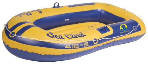 Stansport Sea Cloud Inflatable Vinyl Boat with 2 Seats (Vinyl Stansport)