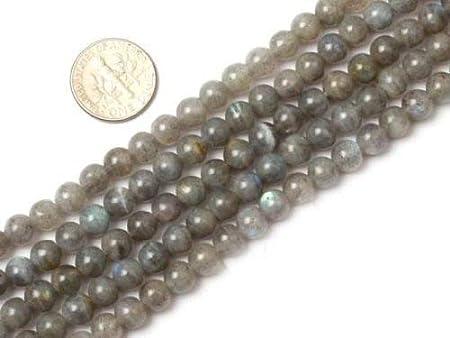 """new 6mm Indian Labradorite Round Loose Gemstones Beads 15/"""""""