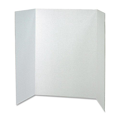 PAC37634 - Pacon Spotlight White Headers Corrugated Presentation Board by Pacon