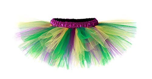 [Mardi Gras Purple, Green & Gold Girls & Teen Tutu (5-8 Years)] (Dance Costumes In New Orleans)