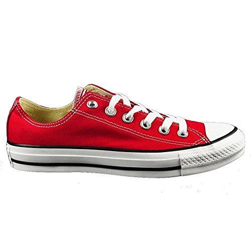 Converse Chuck Taylor All Star - Zapatos de lona, unisex - Rot-Schwarz-Weiß