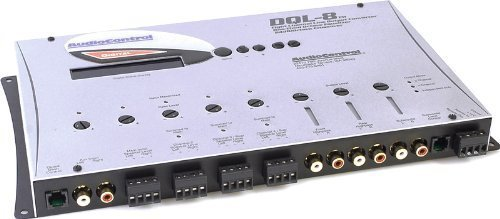 Digital Processing Equalizer (DQL-8 - AudioControl 8 Channel Line Output Converter with Auxiliary Input/Digital Signal Processing)
