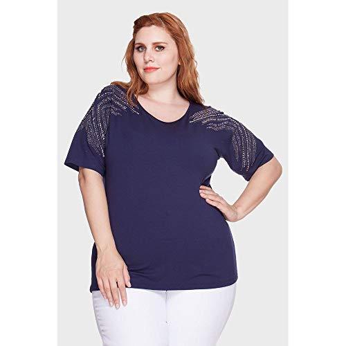 Blusa Alexis Plus Size Marinho-52