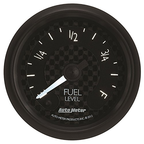 Auto Meter 8010 GT Series Electric Programmable Fuel Level ()