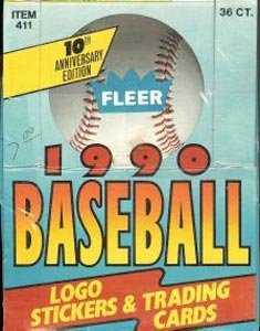 1990 Fleer Baseball Card Unopened Hobby Box (Sosa RC)