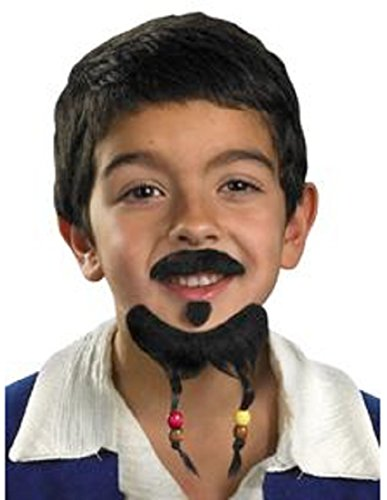 [Goatee And Mustache Pirate Accessory] (Jack White Halloween Costume)