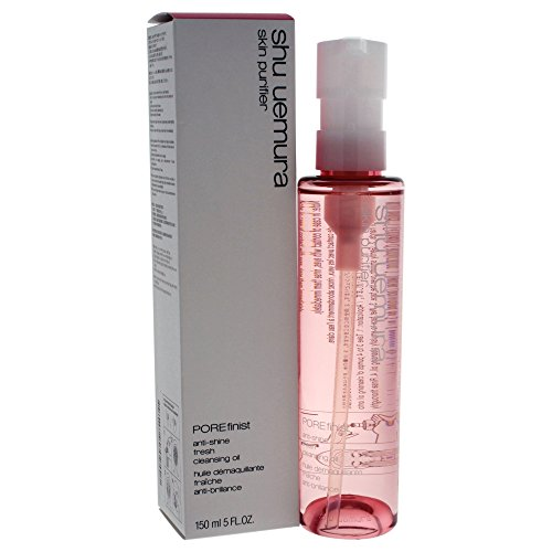 (Shu Uemura Skin Purifier Porefinist Anti-Shine Fresh Cleansing Oil, 5 Ounce)