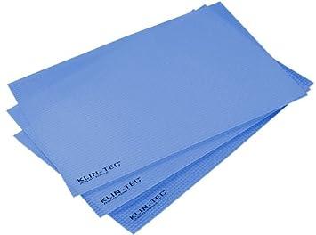Kühlschrankmatten : Klin tec kühlschrankmatten er pack blau amazon küche