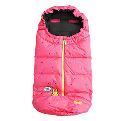 Lodi down sleeping bag Futtomafu pink Lodi Rody Buggy stroller for Futtomafu whipped cream wipcream whipped cream one-size cold measures against cold