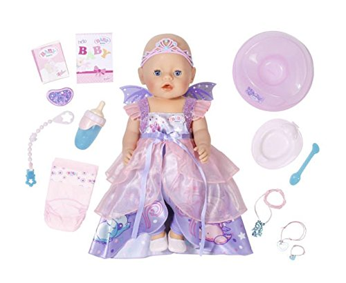 Baby Born Wonderland Interactive Doll Girl Kids Toy Gift Play Realistic Function - Baby Born Girl Doll
