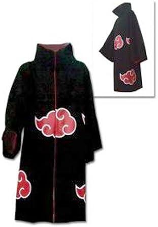 Amazon.com: Naruto: Shippuden Akatsuki Capa Disfraz (Tamaño ...