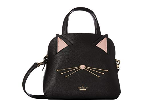 Kate Spade New York Women's Cat's Meow Cat Small Lottie Black One Size (Kate Spade Black Cat)