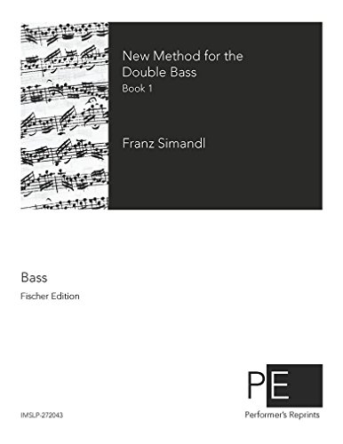 New Method for the Double Bass - Book 1
