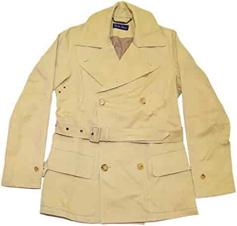deb07945d2 RALPH LAUREN Polo Purple Label Mens Italy Peacoat Belted Jacket Khaki Camel  XL