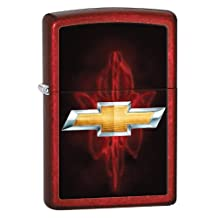 Zippo Chevy Candy Apple Red Windproof Lighter Candy Apple Red