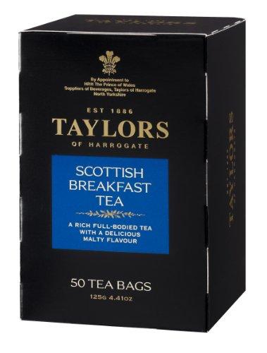 Taylors of Harrogate Scottish Breakfast Tea, 50-Count Tea Bags (Pack of (Harrogate Scottish Breakfast)