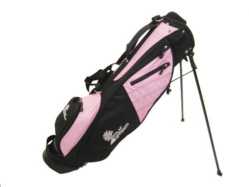 Palm Springs Golf Sunday Bag with Stand (Pink) (Stand Spring)