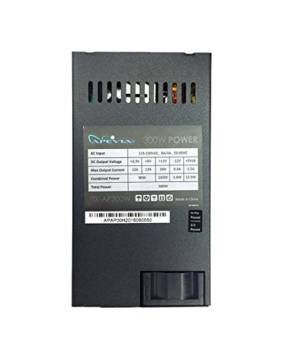 Apevia ITX-AP300W Mini-ITX/Flex ATX 300W Solid Power Supply - Black by Apevia (Image #4)