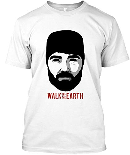 Walk Off The Earth - Hipster Beard Guy 8 Unisex T-Shirt|Sweatshirt White