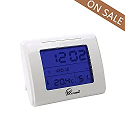 KT THERMO Digital Hygrometer Indoor Thermometer HumidityGauge with Backlight Temperature Humidity Monitor
