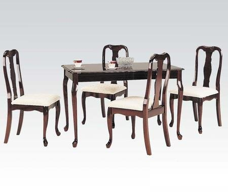 Queen Anne Rectangular Leg Table - 1