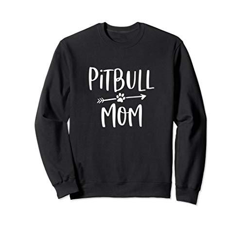 Proud Pitbull Mom Sweatshirt Cute Pit Bull Mama for Women
