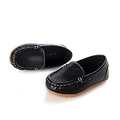 Kids Conda Boys Loafers Water Resistent Slip On Split Leather Boys Oxfords - Deck Shoes / Sneakers