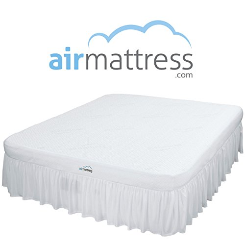 king-size-best-choice-inflatable-air-mattress-with-hypoallergenic-bamboo-bed-sheet-and-skirt-include