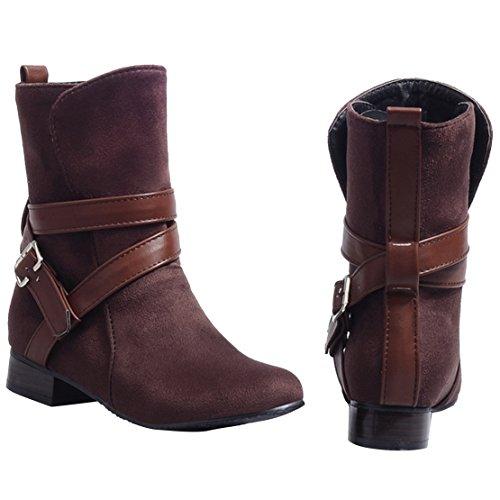Brown Aiyoumei Boot Aiyoumei Brown Aiyoumei Brown Boot Klassisk Boot Klassisk Klassisk wxSvIWFp