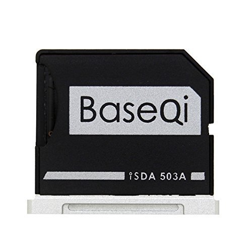 BASEQI aluminum microSD Adapter for MacBook Pro 15 Retina (Early 2013 and before)